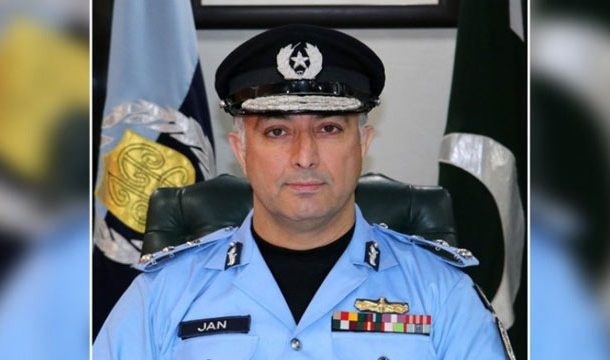 Islamabad IGP Resumes Charge