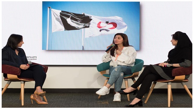 Mahira Khan Visits Facebook HQ, to Raise Awareness About SKMCH