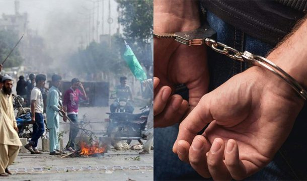 LEA's Arrested Around 1800 Rioters in Crackdown