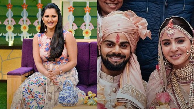 Sania Mirza Reveals Why Anushka, Virat Picked Italy as Wedding Destination