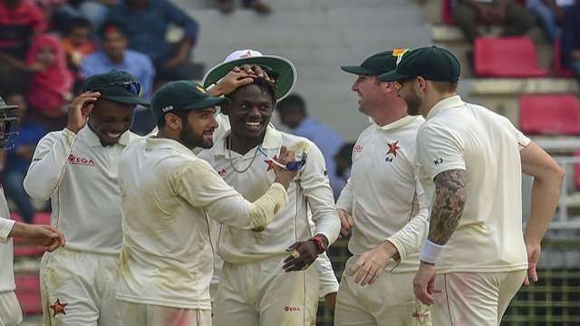 Zimbabwe Wins Test Match after 5 Years