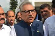 India Following Israel's Footsteps to Oppress Kashmiris: President Arif Alvi