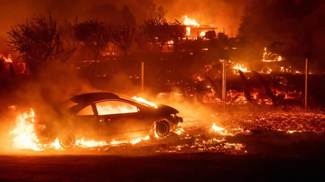 Massive Fire in California Kills 42