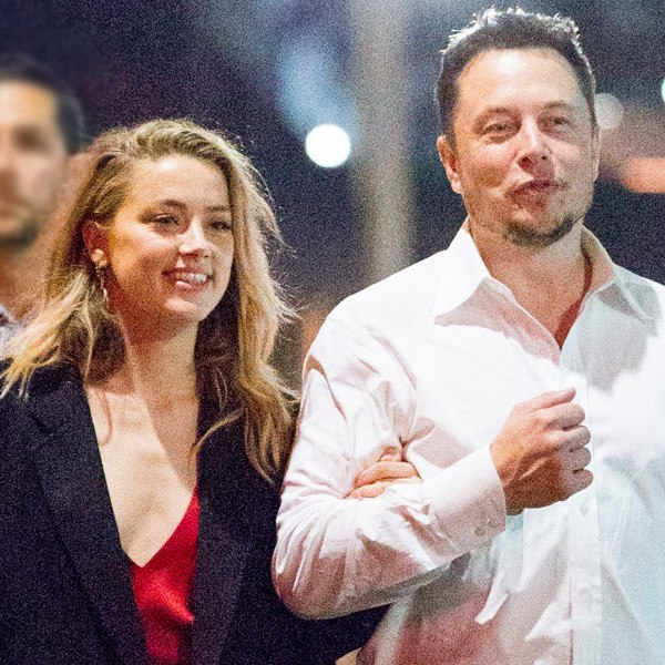 Exes Amber Heard and Elon Musk Get Lunch Together