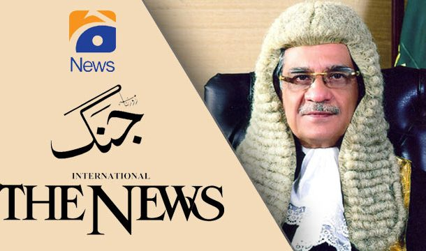 Jang, The News' Apologies Accepted over Misreporting