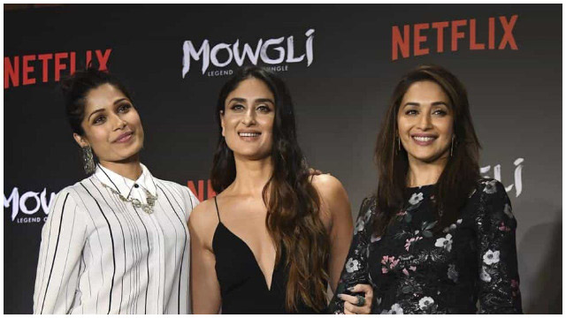 Legend of the Jungle: Kareena, Madhuri's Voice Over Gets Attention