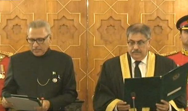 Justice Athar Minallah Takes Oath as IHC Chief justice