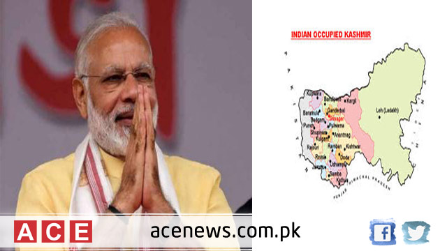 Modi Sarkar Imposed Governor Rule in Occupied Jammu and Kashmir