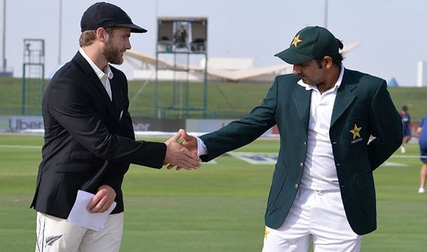 Pak vs NZL: New Zealand Opt to bat first in test match