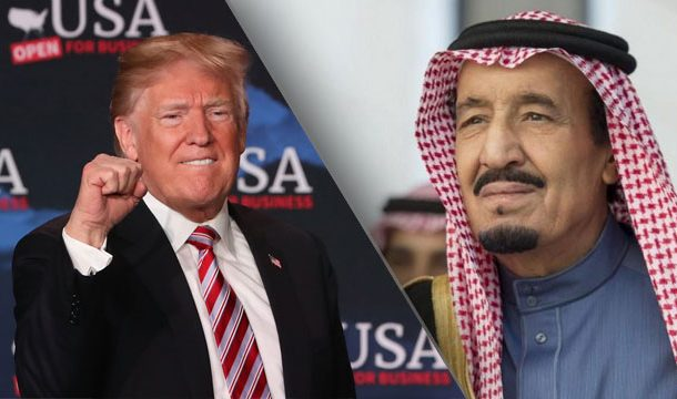 President Trump Warned Saudi Arabia in his Own Unique Manner