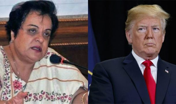 Shireen Mazari Responds to Trump's Tirade