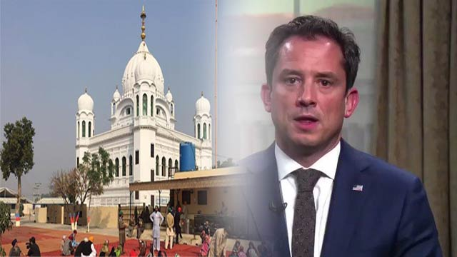 US Welcomes Kartarpur Initiative