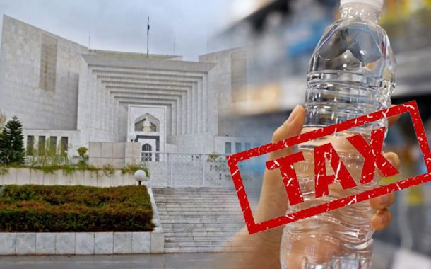 Supreme Court Imposed Tax on Companies Selling Bottled Water