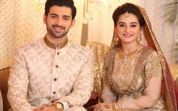 Stunning Aiman,  Muneeb Officially Married