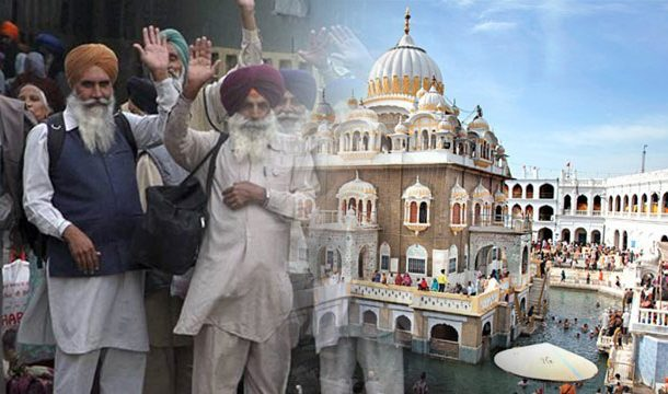 Sikh Pilgrims Return to India