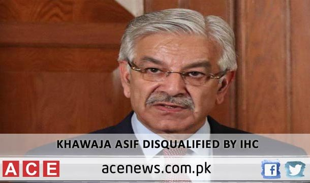 Handed Down Judgement with Heavy Heart to Disqualify Khawaja Asif, IHC