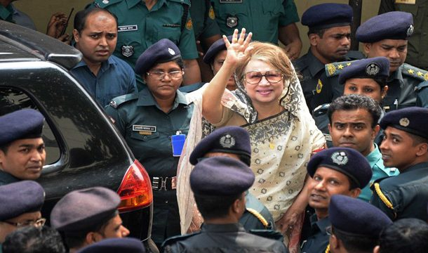Khaleda Zia Disqualified for Next Month's Polls