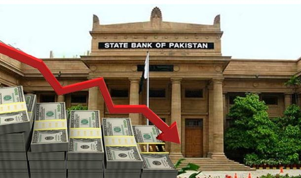 Pakistani Official Foreign Reserves Fall to 5 Years Low at $7.77 Billion