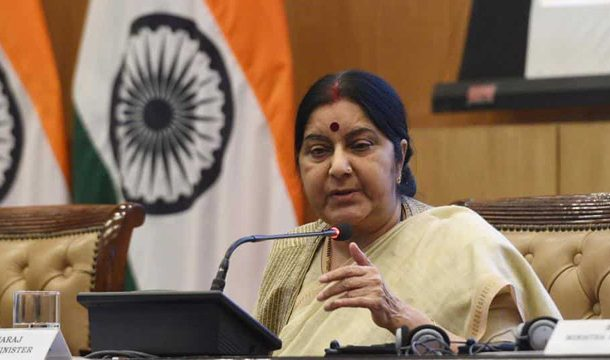 Kartarpur Initiative not Linked to Indo-Pak Dialogue: Sushma Swaraj