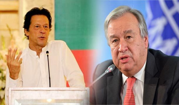 PM Imran Urges UN to Take Notice of Violence in IOK