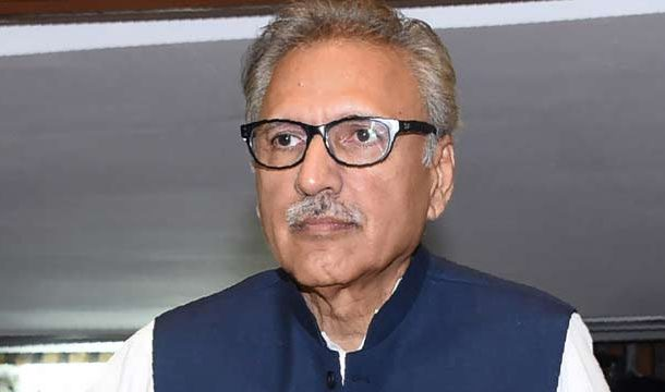 President Alvi Suggests Cameras Installation at Polling Stations