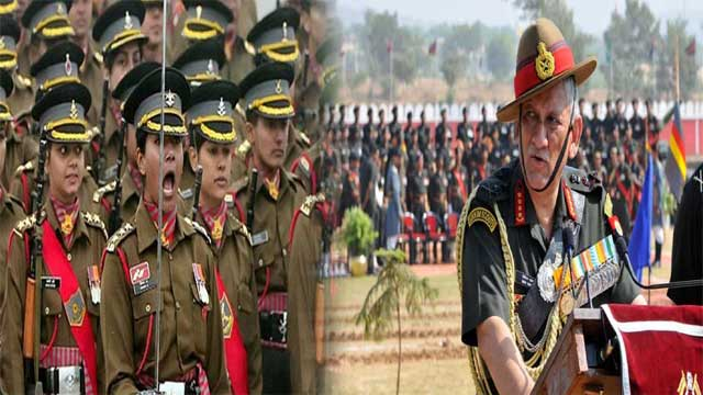 Indian Army Chief's Remarks About Women Combat Role Sparked Outrage