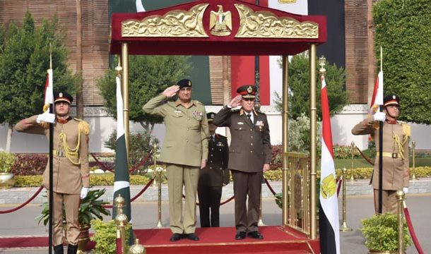 Egypt-Pak Committed to Improve Regional Stability