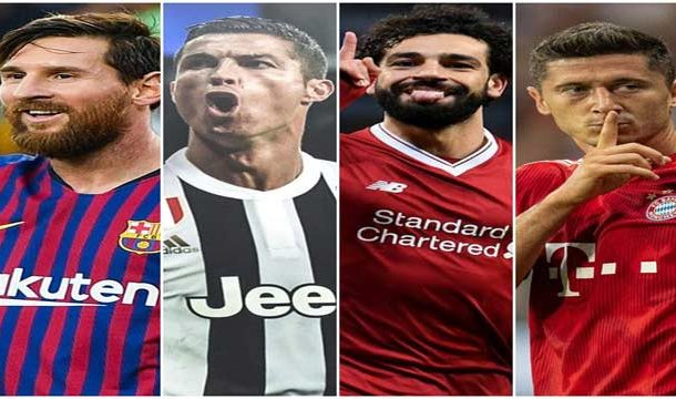 Top 10 Football Scorers of 2018 until Now