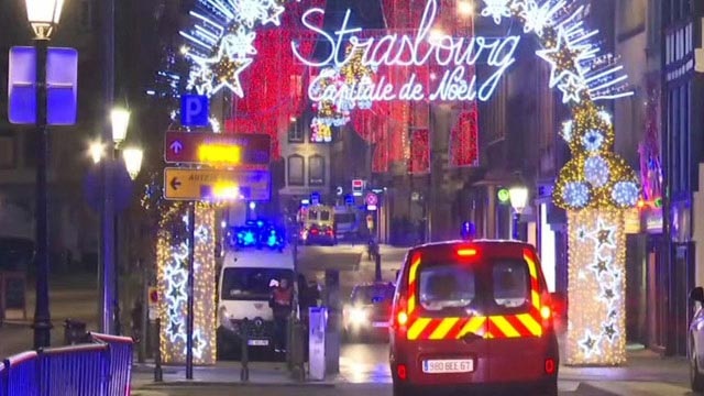 France: Four dead and Several Injured in Christmas Market Shooting