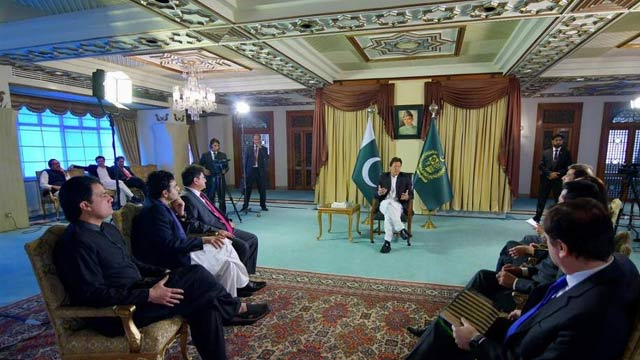 Army Backs Government Decisions: PM Imran