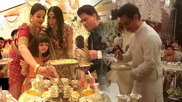 Bollywood Stars Trolled Over Serving Food at Ambani Wedding