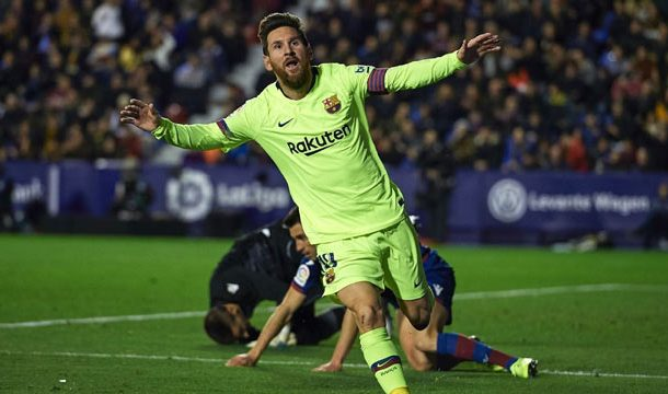 Messi Bags Hat-Trick to Hit 50-Goal Mark in 2018