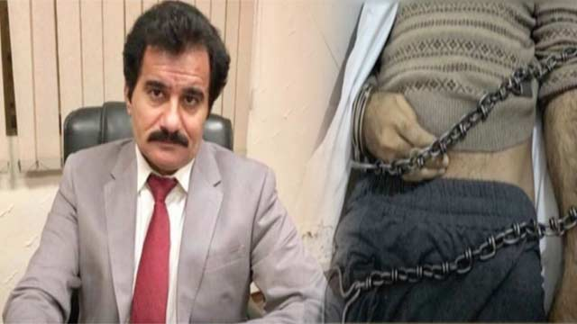 CEO Sargodha University Dies in NAB Custody, Chained Body Image Goes Viral