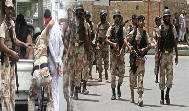 Rangers Arrest 20 Suspects During Karachi Raids
