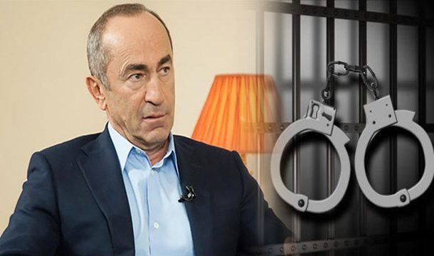 Former Armenian President Arrested for Deadly Crackdown