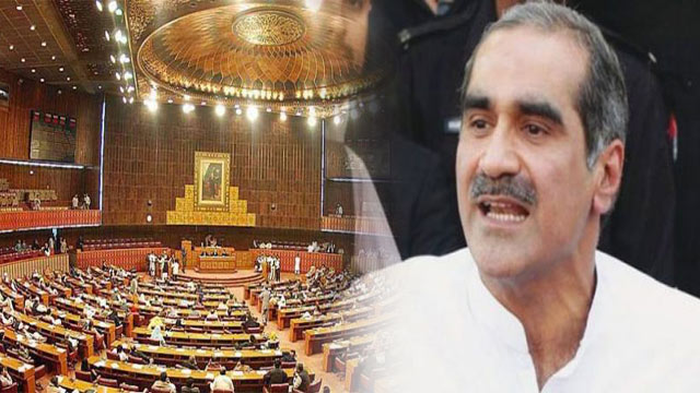Saad Rafique Attends NA Session After Arrest