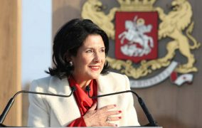 Zurabishvili Sworn in as First Female President of Georgia