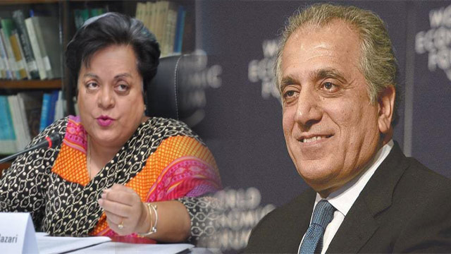 Shireen Mazari Hits Out at US Envoy