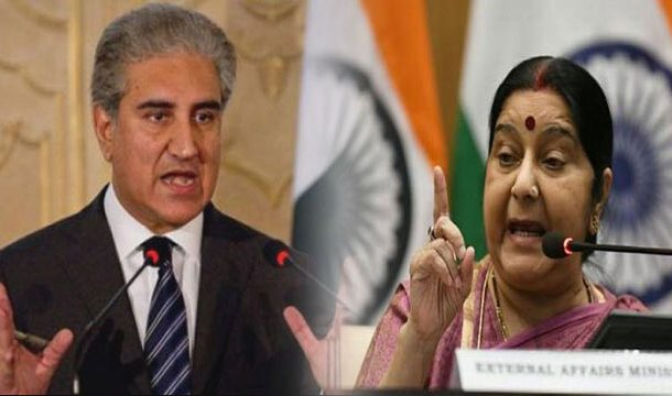 Words War Between Swaraj and Qureshi