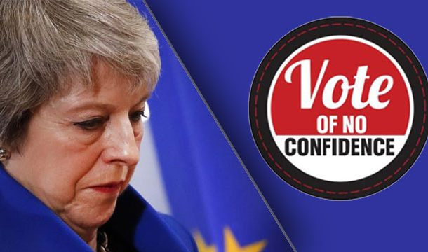 British PM May Survived Vote of No Confidence With Clear Majority