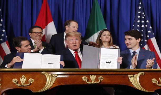 US, Mexico, Canada Signed New Trade Deal