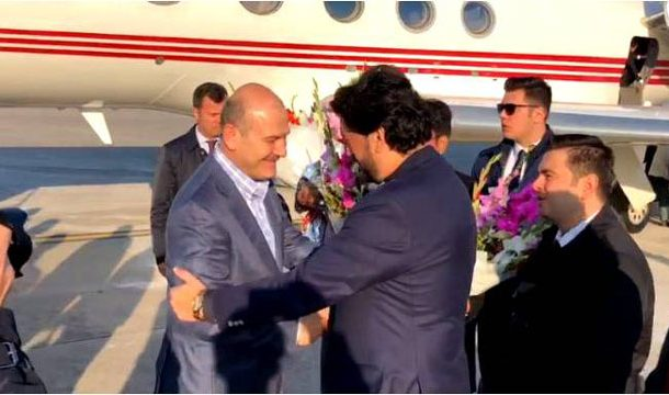Turkish Interior Minister Arrives in Pakistan