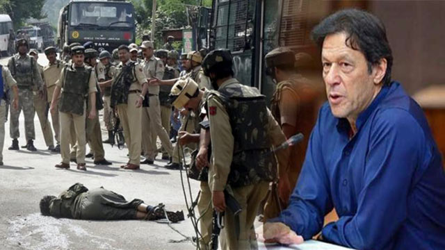 PM Imran Strongly Condemns Indian Brutality in IoK