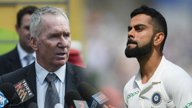 Allan Border Defends Kohli's Worst Behavior