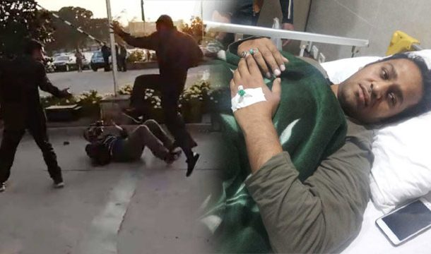 TV Cameraman Injured after Tortured by Nawaz Sharif's Security Guard