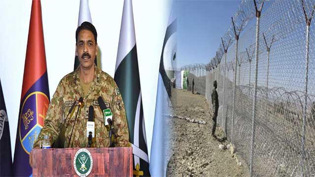 Pakistan Built 233 Forts and Fenced 802 km Afghan Border said DG ISPR