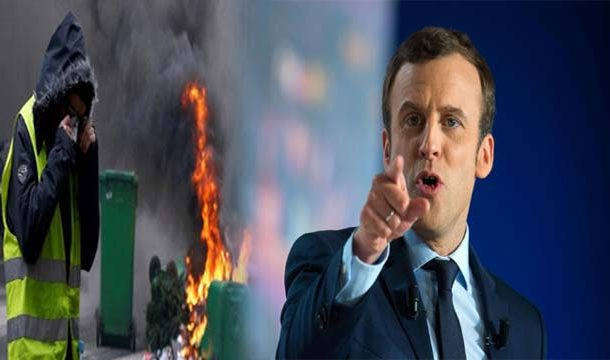 """Emmanuel Macron Seeks to Placate """"Yellow Vest"""" Anti-Government Protesters Who Destructed  Paris"""