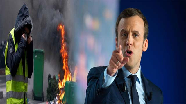"Emmanuel Macron Seeks to Placate ""Yellow Vest"" Anti-Government Protesters Who Destructed  Paris"