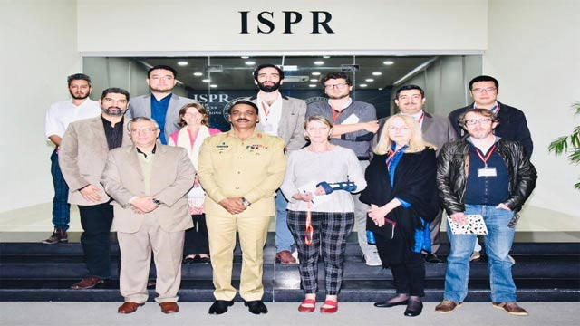 DG ISPR Urged International Media to Highlight the Improved Peace and Stability in Pakistan