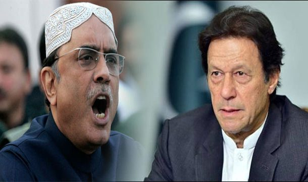 Zardari Fired Broadside at PM Imran